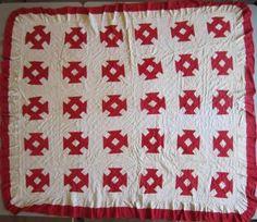 2011-6 patchwork rouge et blanc