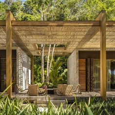 Architectural Digest, Architectural Design Studio, Architecture Design, Tropical Architecture, Sand House, Beach House, Porches, Outdoor Spaces, Outdoor Living