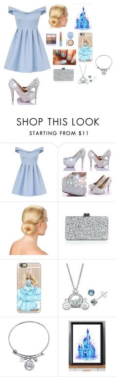 """""""Modern day Cinderella"""" by a-angel ❤ liked on Polyvore featuring Chi Chi, Edie Parker, Casetify, Disney and modern"""