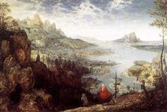 Paisaje con la huida a Egipto (Pieter Bruegel el Viejo) (1563) -  Michael Frayn. La trampa maestra