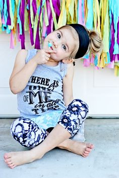 my kid's gonna be rocking the high bun..just like me:)