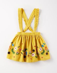 Applique Skirt for Girls | Mini Boden