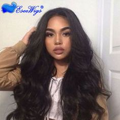 360 Circular Lace Wigs Body Wave Brazilian Full Lace Human Hair Wigs Natural Hair Line 180% Density