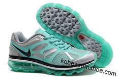 Nike Air Max 2012 Wolf Grey Tiffany Blue Shoes