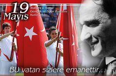 19 Mayıs Gençlik ve Spor Bayramımız kutlu olsun...