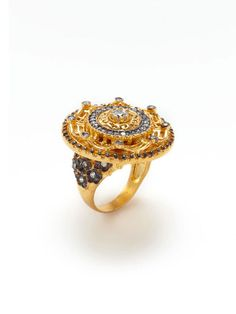 "Love it! This Azaara ""Crystal Sun Ring"" reminds me of back home. The land of the Ottoman"