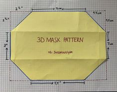 Easy Face Masks, Diy Face Mask, Sewing Patterns Free, Free Sewing, Mask Video, Sewing Hacks, Sewing Projects, Diy Mask, Sewing Techniques