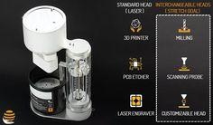 3ders.org - LumiPocket LT resin 3D printer surpasses Kickstarter goal; adds interchangeable heads, new project guides | 3D Printer News & 3D Printing News