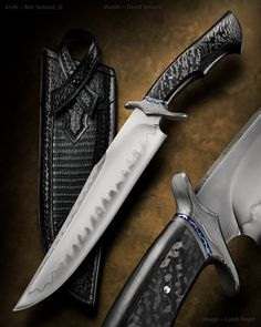 BOWIES and FIGHTERS | Ben Seward Knives
