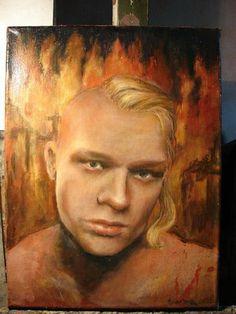 Paweł M. - Pierwszy Prowokator RP (obraz autorstwa Radki Stachury) Crime, Politics, Projects, Painting, Art, Log Projects, Art Background, Blue Prints, Painting Art