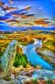 Clutha River, New Zealand