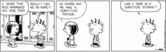 Calvin and Hobbes strip for June 1, 2015
