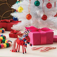 #Avon Living Holiday Cheer Multi Color #Reindeer #Ornament. Add a splash of color to your home this holiday with a fun, festive reindeer ornament. Reg. $9.99. #C24 #HolidayCheer #Ornament #Christmas #AvonLiving #HolidayDecor #MultiColor #ChristmasDecor #Gift #GiftIdeas Shop Avon Online @ www.TheCJTeam.com