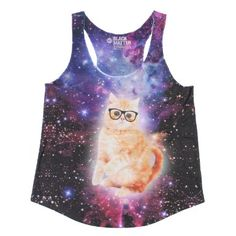 Amazon.com: Space Cat Girls Tank Top: Clothing