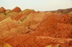 Danxia Landform  丹霞地貌 by Melinda ^..^, via Flickr