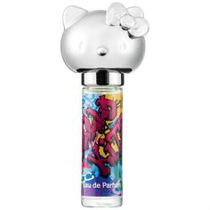 Graffiti body perfume bottle