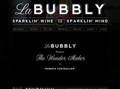 La Bubbly - Web Design Insipiration
