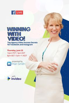 Want to make your digital agency more profitable and get better results for your clients? Whether you're a solo social media professional, or a small to medium sized agency, this is for you! In this special LIVE training, I'm teaming up with my good friends at InVideo.io to walk you through how to generate leads Facebook Marketing Strategy, Online Marketing Tools, Online Marketing Strategies, Business Marketing, Internet Marketing, Social Media Marketing, Business Pages, For Facebook, Digital Media