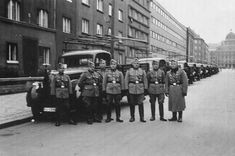 German guards from Prague 1939