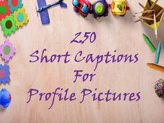 Explore the best collection of 250 Short Captions For Profile Pictures / DP captions. Find more at The Quotes Master, a place for inspiration & motivation.
