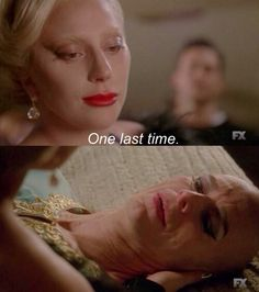 Liz Taylor and The Countess AHS HOTEL FINALE