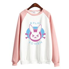 Overwatch OW D.Va Rabbit Bunny Jumper Sweater SP167742