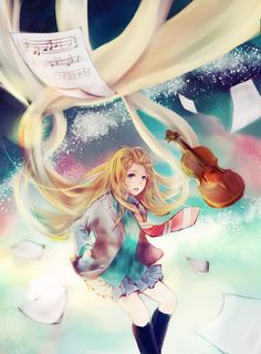 your lie in april - Google Search