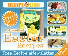 Quick, sign up and receive your Free Recipe Lion Easter Recipes eCookbook and get ready for tomorrow!! Happy Easter! http://ifreesamples.com/late-free-easter-recipes/