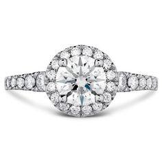 Transcend Engagement Ring - 1.15ctw