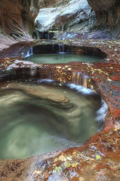 Subway Pools - Zion National Park - Vincent James I've been to Zion, didn't see this! An excuse to go back.