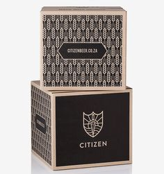 Citizen Beer packaging and identity created by Monday Design. beer mxm #vinosmaximum
