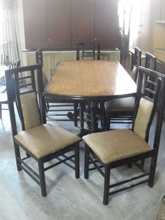 Six Seater Dining Table Available For Sale Features Chairs Compatable Solid