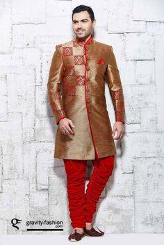 modern wedding  sherwani 2015