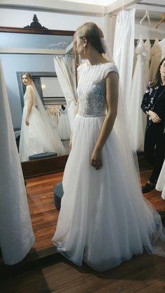 bohemian wedding dress Poland Julia Rosa 2017