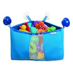 Corner Storage Basket - Blue