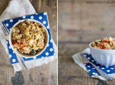 SaskiarundumdieUhr: Couscous mit Hackfleisch und Gemüse
