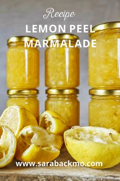 This lovely lemon peel marmalade is absolutely delicious, especially on toast. Try it!
