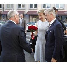 King Philippe and Queen Mathilde attended the final concert of the 1st, 2nd and 3rd laureates of Queen Elisabeth Violin Competition, 11th June 2015