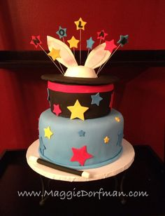 Bunny Birthday Cake | this cake for Nolan's 1st Birthday party. It was a chocolate cake ...