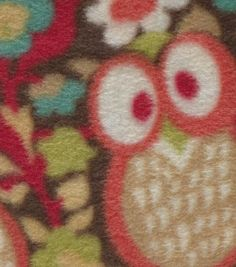 Anti-Pill Fleece Fabric Woodland Owls Online Craft Store, Craft Stores, Fuzzy Blanket, Nursery Fabric, Joanns Fabric And Crafts, Fleece Fabric, Fabric Material, Woodland, Scrapbook