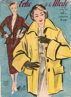 revue le petit ECHO DE LA MODE n°33 du 13 août 1950