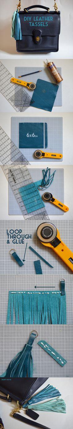 DIY Leather Tassel