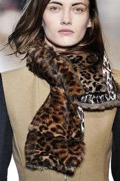 Animal Magnetism; Love Leopard Prints For Winter - Style Scoop - Daily Fashion, Beauty and LifeStyle Blog