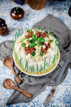 Herzhafte Brottorte - Life Is Full Of Goodies Cake Sandwich, Sandwiches, Brunch, Savoury Cake, Camembert Cheese, Snacks, Cakes, Party, Desserts