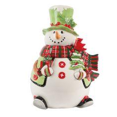 Fitz and Floyd Holly Hat Snowman Cookie Jar Fitz and Floyd http://www.amazon.com/dp/B00F0HTSS8/ref=cm_sw_r_pi_dp_pMlowb0KHSAX2