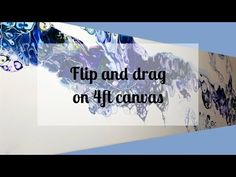 77 Acrylic Flip & Drag with Negative Space on canvas Flow Painting, Acrylic Painting Techniques, Pour Painting, Diy Painting, Art Techniques, Acrylic Pouring Techniques, Acrylic Pouring Art, Painting Recipe, Liquid Paint