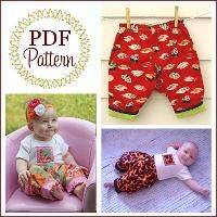 Sewing: Easy Reversible Poofypants for Babies