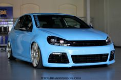 Ultraleggera Hlt 20 Customized On Golf Vi Gti Rs By Gepfeffert Ozracing Itech Volkswagen