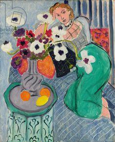 Henri Matisse Odalisque, Blue Harmony, 1937 (oil on canvas)