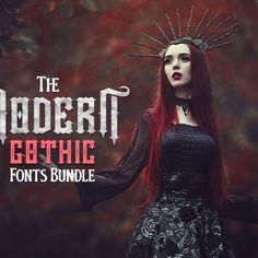 The 70 Bold and Beautiful Gothic Fonts across 34 Font families in this bundle are inspired by the old lettering/sign painting. These fonts have been improvised to make it particularly relevant to this modern era. Perfect for heading, logo creation, clothing, fashion, tattoo lettering, advertisements, labels, posters, and much more! #font #fonts #gothic #gothicfonts #fontsbundle #fontbundle #typefaces #typeface #bundle #design #designers #craft #crafters #scrapbook #creative #scrapbookers Modern Gothic, Gothic Fonts, Logo Creation, Font Family, Painted Signs, Old Things, Lettering, Creative, Letters